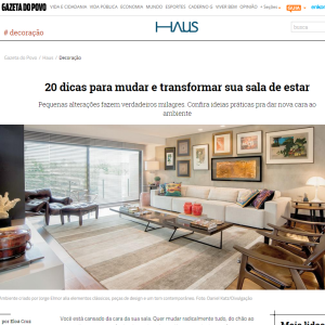 Haus Gazeta do Povo,  Mar. 2015