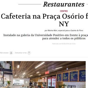 Bom Gourmet Gazeta do Povo, Mar. 2016