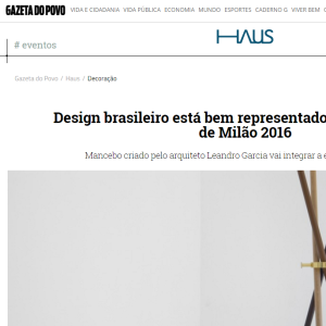 Haus Gazeta do Povo, Abr. 2016