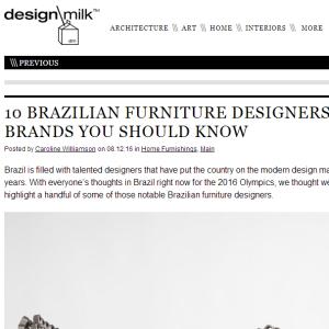 Design Milk, Ago. 2016