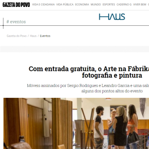 Haus Gazeta do Povo,  Out. 2016